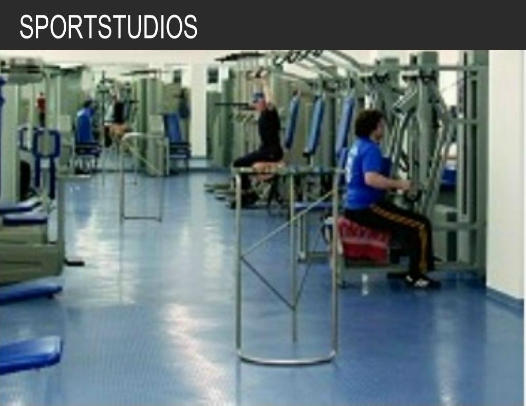 Titelbild Sportstudios